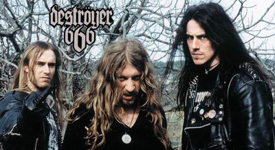 Destroyer 666 discography reference list of music CDs. | 400 x 218 jpeg 33kB