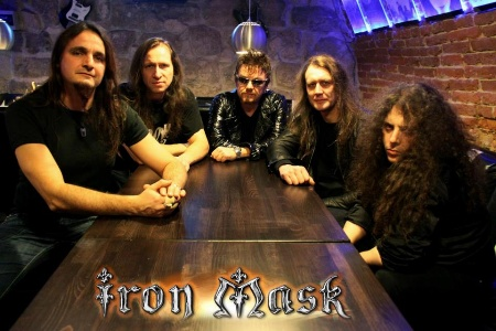 Dushan Petrossi's Iron Mask Band Picture