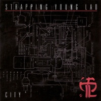 [Strapping Young Lad City Album Cover]
