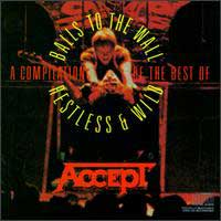 [Accept A Compilation of the Best of Balls to the Wall / Restless and Wild Album Cover]