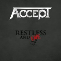 [Accept Restless and Live Album Cover]