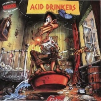 [Acid Drinkers Are You a Rebel Album Cover]