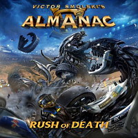 [Almanac Rush of Death Album Cover]
