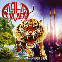 Alpha Tiger Man Or Machine Album Cover