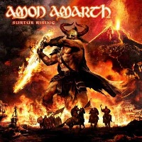 [Amon Amarth Surtur Rising Album Cover]