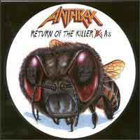 [Anthrax Return of the Killer As - The Best of Anthrax Album Cover]