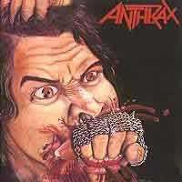[Anthrax Fistful of Metal Album Cover]
