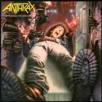 [Anthrax Spreading the Disease Album Cover]