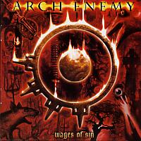 [Arch Enemy Wages of Sin Album Cover]