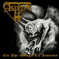 [Asphyx On the WIngs of Inferno Album Cover]