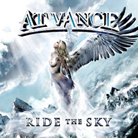 [At Vance Ride The Sky Album Cover]