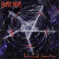 [Aura Noir Increased Damnation Album Cover]