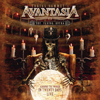 [Avantasia The Flying Opera: Around The World In Twenty Days Album Cover]
