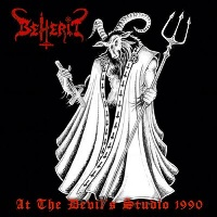 Beherit At The Devil's Studio 1990 Album Cover