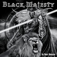 Black Majesty In Your Honour Album Cover