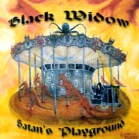 [Black Widow Satan's Playground Album Cover]
