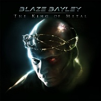 [Blaze Bayley The King of Metal Album Cover]