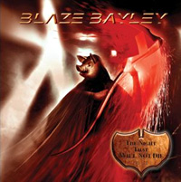 [Blaze Bayley The Night That Will Not Die Album Cover]