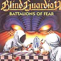 [Blind Guardian Battalions of Fear Album Cover]