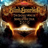 [Blind Guardian The Sacred Worlds and Songs Divine Tour 2010 Album Cover]
