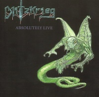 [Blitzkrieg Absolutely Live Album Cover]