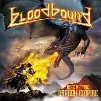 [Bloodbound Rise Of The Dragon Empire Album Cover]