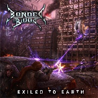 [Bonded By Blood Exiled To Earth Album Cover]