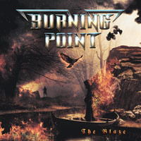 Burning Point The Blaze Album Cover