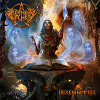 [Burning Witches Hexenhammer Album Cover]