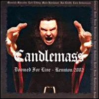 Candlemass Doomed For Live - Reunion 2002 Album Cover