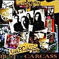 [Carcass Best of Carcass Album Cover]
