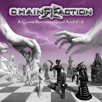 [ChainReaction A Game Between Good And Evil Album Cover]