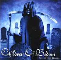 [Children of Bodom Follow the Reaper Album Cover]