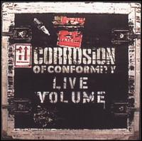 Corrosion of Conformity Live Volume Album Cover