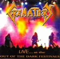 [Crematory Live at the Out of the Dark Festival Album Cover]