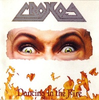 [Cronos Dancing in the Fire Album Cover]