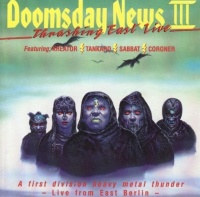 Various Artists Doomsday News III - Thrashing East Live Album Cover