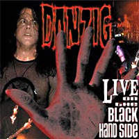 [Danzig Live On The Black Hand Side Album Cover]