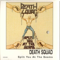 [Death Squad Split You At The Seams Album Cover]