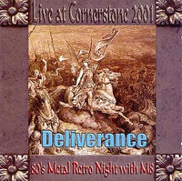 Deliverance Live at Cornerstone 2001 Album Cover