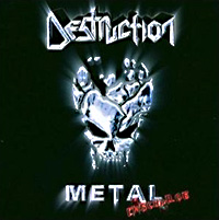 [Destruction Metal Discharge Album Cover]