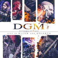 DGM Passing Stages (Live in Milan and Atlanta) Album Cover