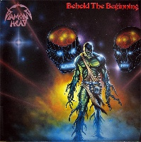 [Diamond Head Behold The Beginning Album Cover]