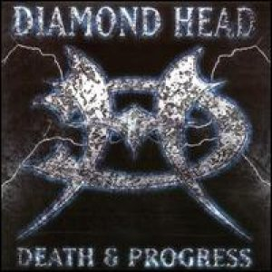 [Diamond Head Death and Progress Album Cover]