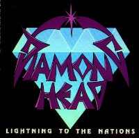[Diamond Head Lightning To The Nations Album Cover]