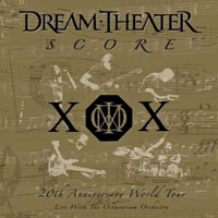 Dream Theater Score Album Cover