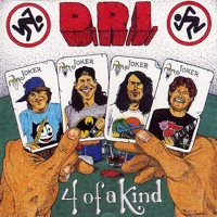 [D.R.I. 4 of a Kind Album Cover]