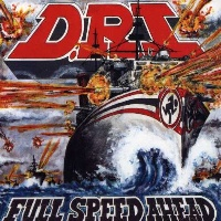 [D.R.I. Full Speed Ahead Album Cover]