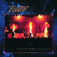 Edguy Burning Down The Opera Album Cover