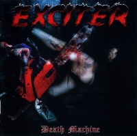 [Exciter Death Machine Album Cover]